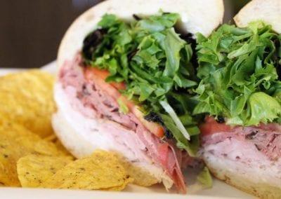 TOPZ Sandwich Company sandwich meal