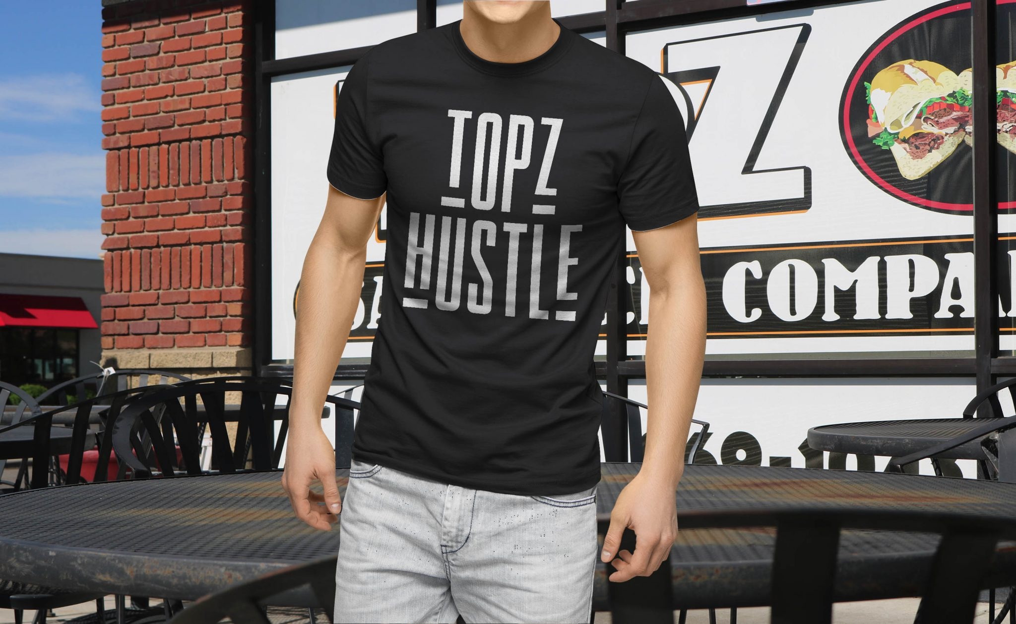 Topz Hustle T-Shirt V2